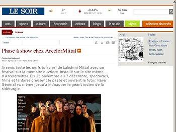 Phase à show chez ArcelorMittal