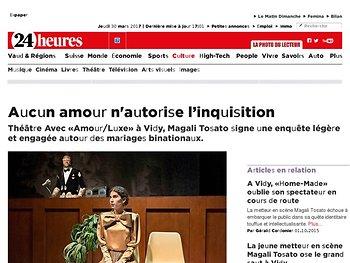Aucun amour n'autorise l'inquisition