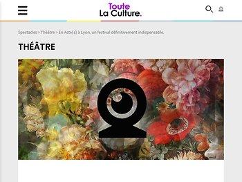 En Acte(s) à Lyon, un festival définitivement indispensable.