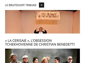 «La Cerisaie», l'obsession tchekovienne de Christian Benedetti