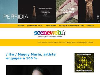 Maguy Marin, artiste engagée à 100 %