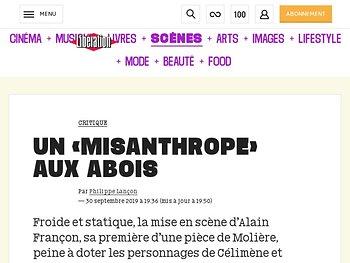 Un «Misanthrope» aux abois