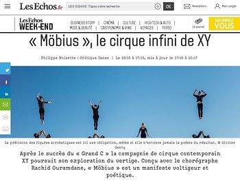 «Möbius», le cirque infini de XY