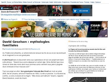 Mythologies familiales