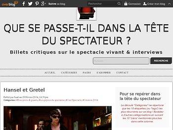 Hansel & Gretel en mode ciné spectacle