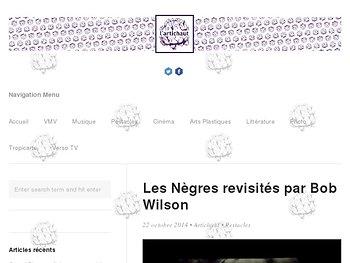 Les Nègres revisités par Bob Wilson