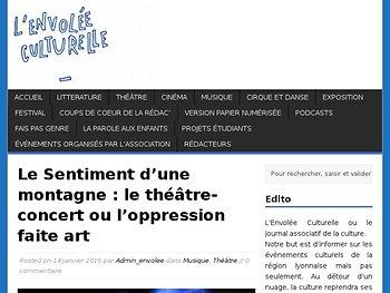 Le théâtre-concert ou l'oppression faite art