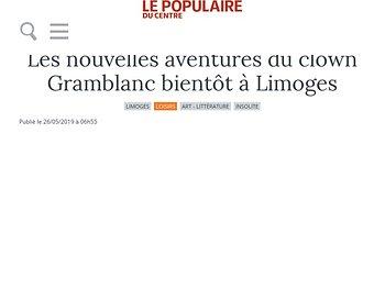 Les nouvelles aventures du clown Gramblanc