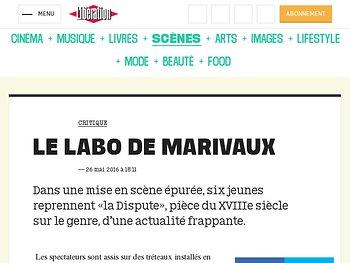 Le labo de Marivaux