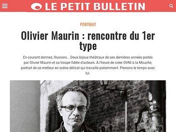 Olivier Maurin : rencontre du 1er type