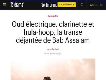 Oud électrique, clarinette et hula-hoop, la transe déjantée de Bab Assalam