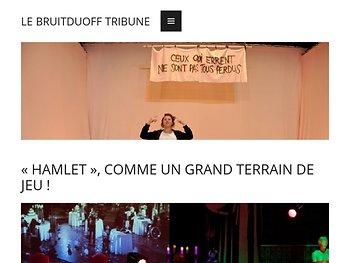 « Hamlet », comme un grand terrain de jeu !