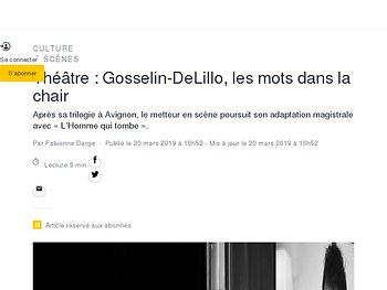 Gosselin-DeLillo, les mots dans la chair