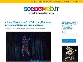 Norah Krief : « J'ai complètement rejeté la culture de mes parents »