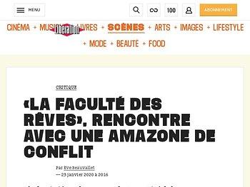 «La Faculté des rêves», rencontre avec une Amazone de conflit