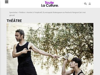 Hamlet à l'Imperatif, Py extrapole Shakespeare à Avignon ( Et c'est genial)