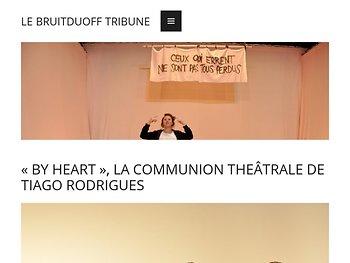 «By Heart», la communion théâtrale de Tiago Rodrigues