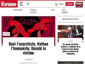 Baal l'anarchiste, Nathan l'humaniste, Donald la victime