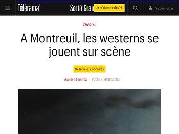 A Montreuil, les westerns se jouent sur scène