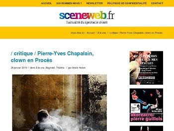 Pierre-Yves Chapalain, clown en Procès
