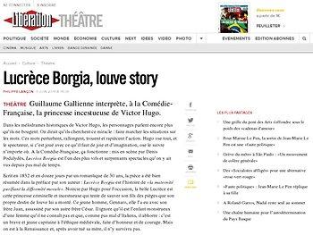 Lucrèce Borgia, louve story