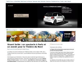 Stuart Seide : un spectacle à Paris et un avenir pour le Théâtre du Nord