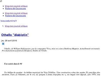"""Othello """"diablotin"""""""