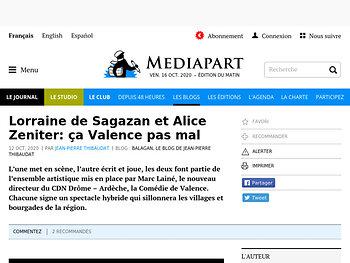 Lorraine de Sagazan et Alice Zeniter: ça Valence pas mal