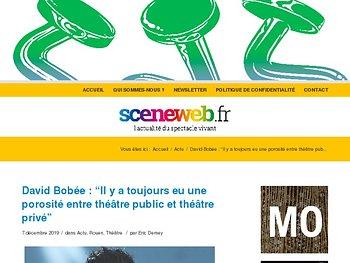 """David Bobée : """"En finir avec l'hypocrisie de la caste du théâtre public"""""""