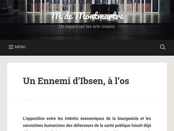 Un Ennemi d'Ibsen, à l'os