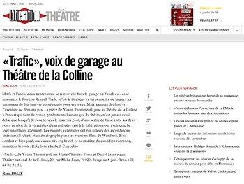 «Trafic», voix de garage au Théâtre de la Colline