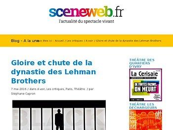 Gloire et chute de la dynastie des Lehman Brothers