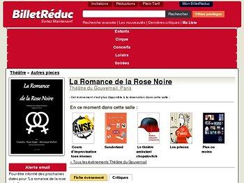 La Romance de la Rose Noire
