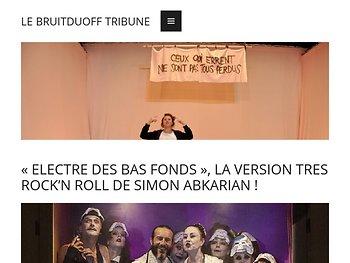«Electre des bas-fonds», la version trsè rock'n roll de Simon Abkarian