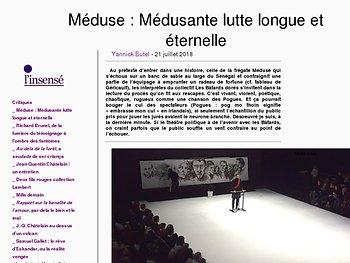 Méduse : Médusante lutte longue et éternelle