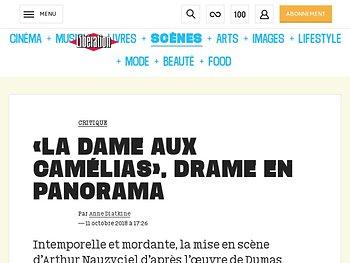 «La Dame aux camlias», drame en panorama