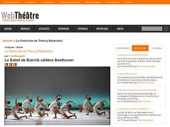 Le Ballet de Biarritz célèbre Beethoven