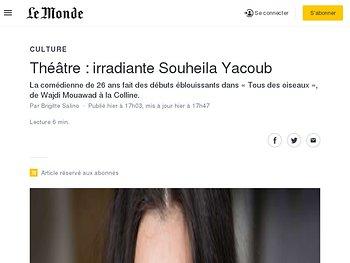 Irradiante Souheila Yacoub