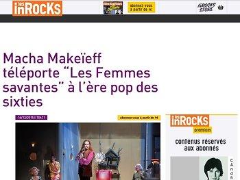 """Macha Makeïeff téléporte """"Les Femmes savantes"""" à l'ère pop des sixties"""