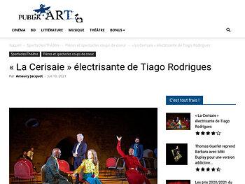 « La Cerisaie » électrisante de Tiago Rodrigues