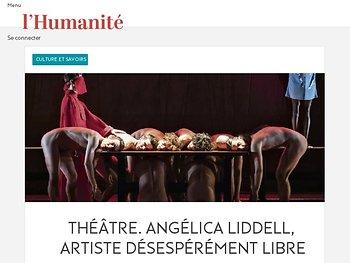 Angélica Liddell, artiste désespérément libre