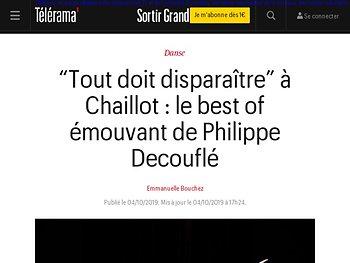 Le best of émouvant de Philippe Decouflé