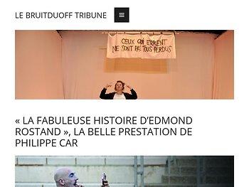 «La Fabuleuse histoire d'Edmond Rostand !», la belle prestation de Philippe Car