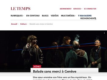 Balade sans merci à Genève