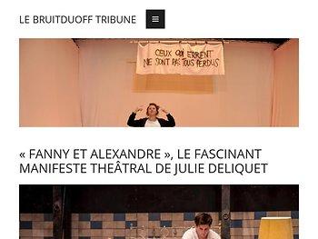 Le fascinant manifeste sur le théâtre de Julie Deliquet