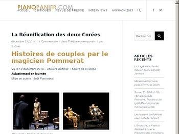 Histoires de couples par le magicien Pommerat