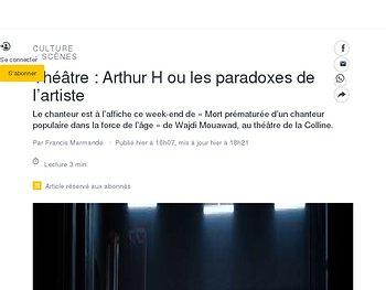 Arthur H ou les paradoxes de l'artiste