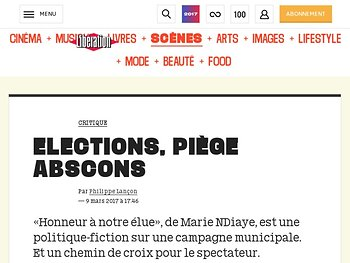 Elections, piège abscons