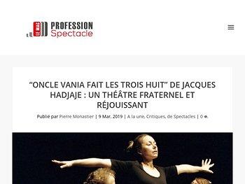 """""""Oncle Vania fait les trois huit"""" : un théâtre fraternel et réjouissant"""