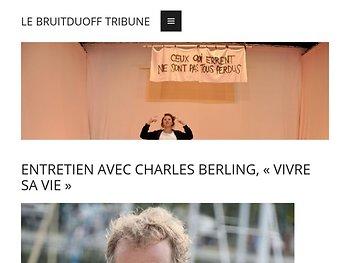 «Vivre sa vie», entretretien avec Charles Berling